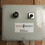 Sauna Project - spoelkast